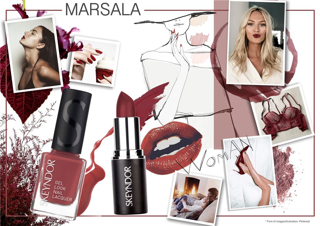 Rouge in Love Gel Polish MARSALA