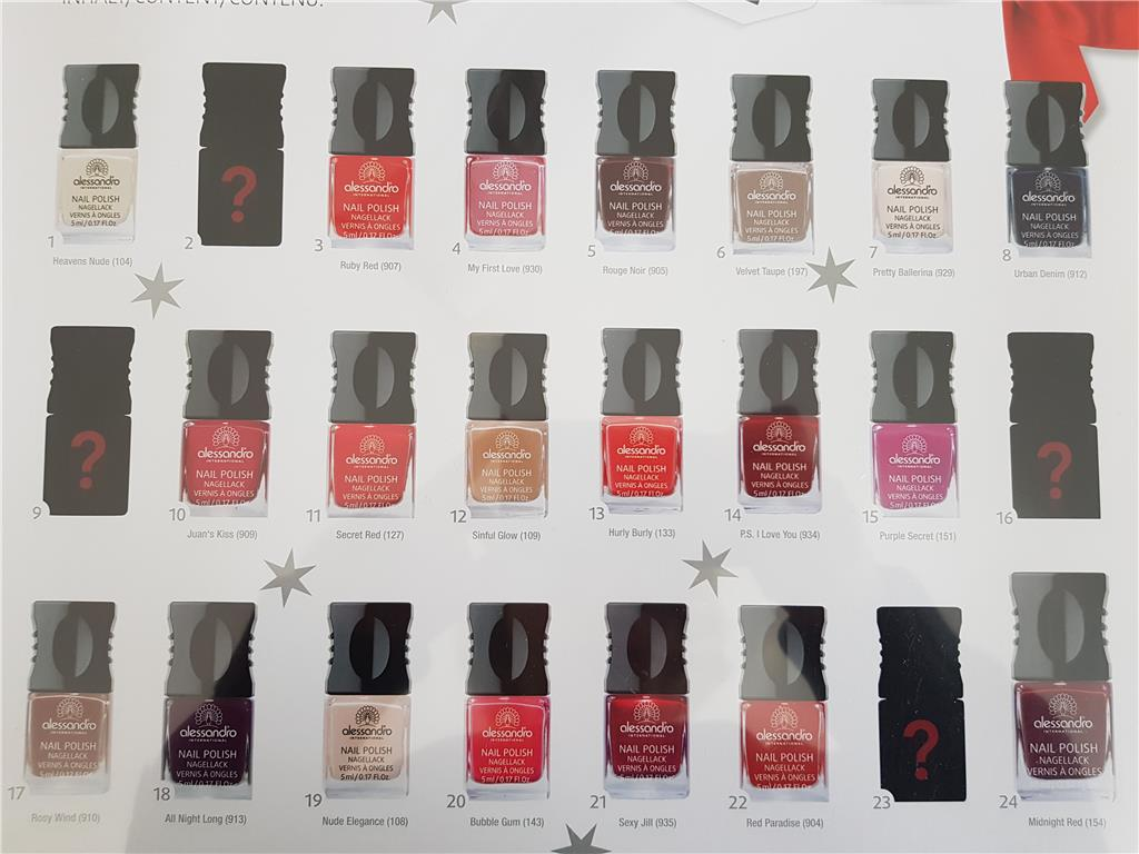 ADVENT Calendar Nail Polish