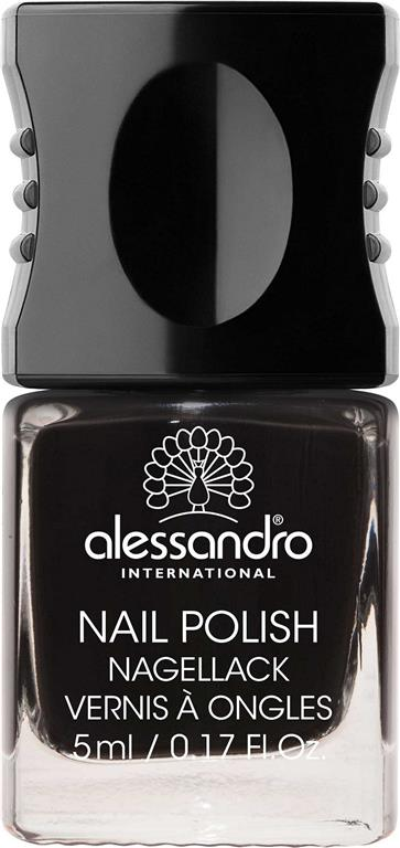 Nail Polish 77 Midnight Black