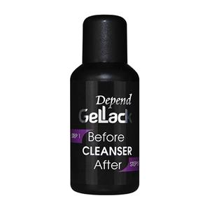 Depend GelLack Before-After Cleanser