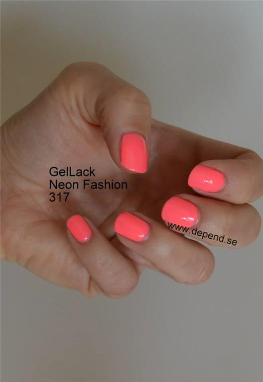 Depend GelLack 317 Neon Fashion