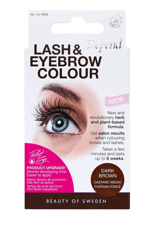 Lash and Eyebrow color Dark Brown
