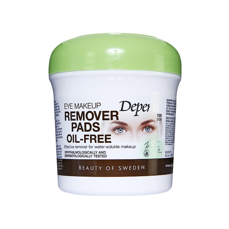 Eye Make-up Remover Pads Oil Free