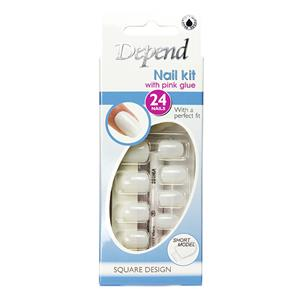 Depend Nail Kit Short Square